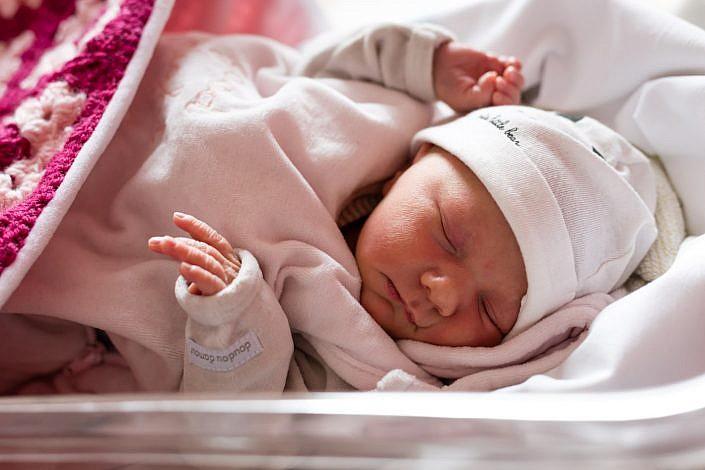 photo de naissance en maternité