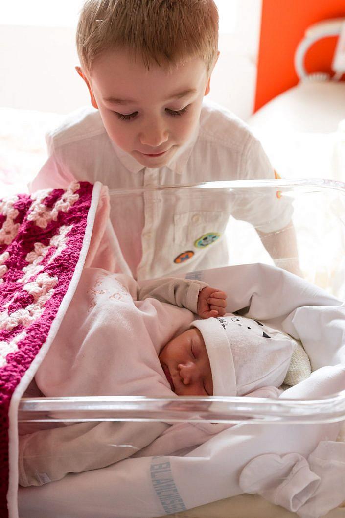 photo de bébé à la maternité de metz