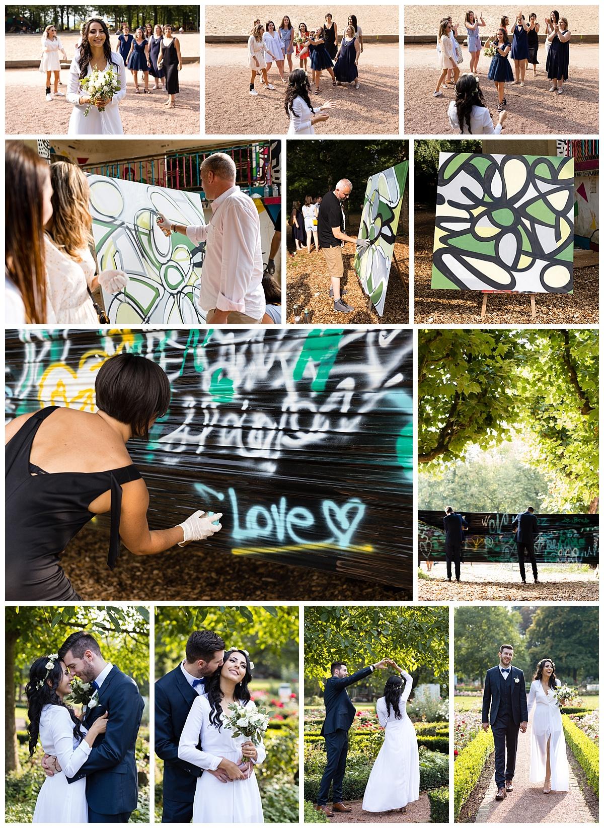 Atelier mariage street art