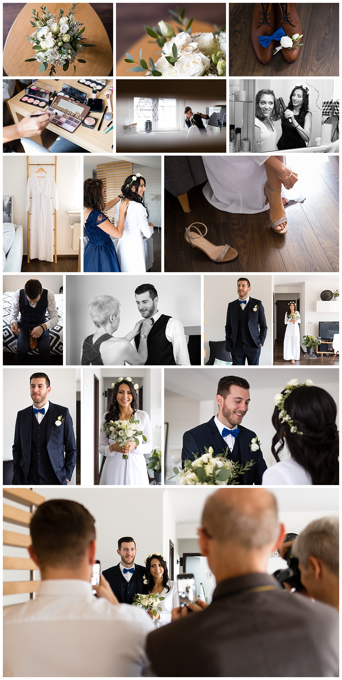 Wedding photo in Luxembourg