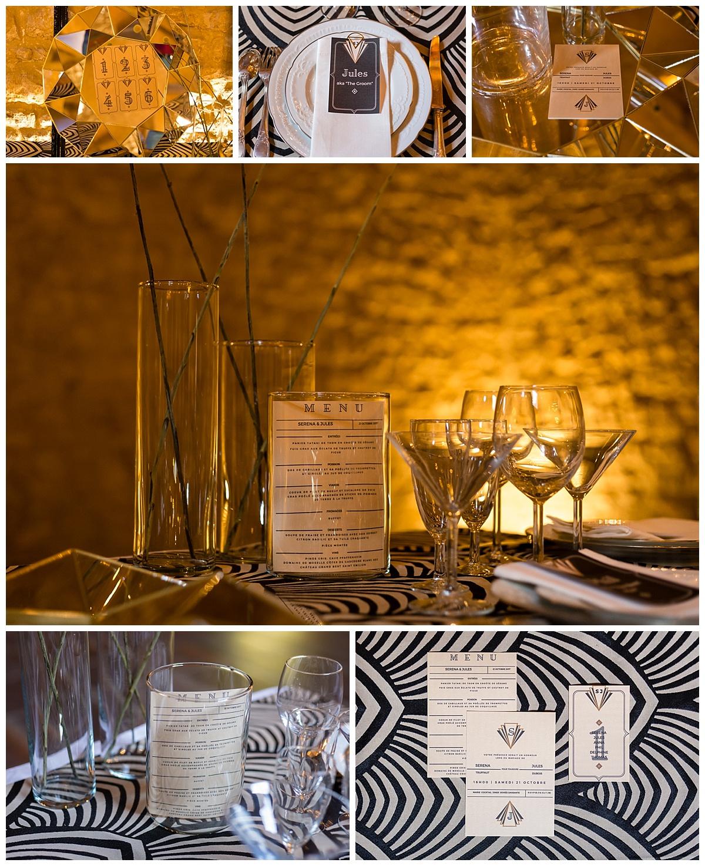 decoration de table pour mariage