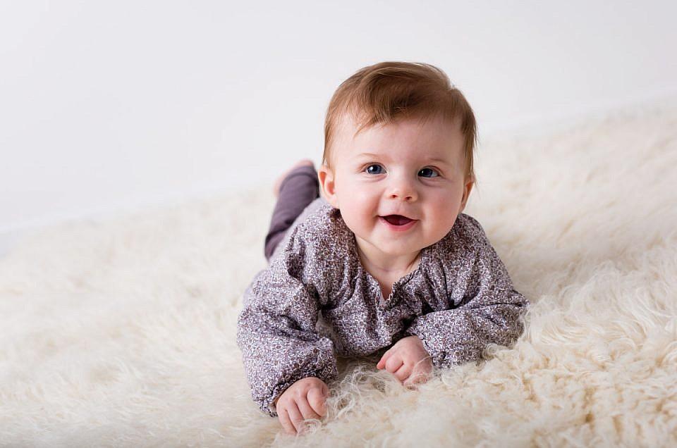 Mini-séance photo pour bébé à Metz