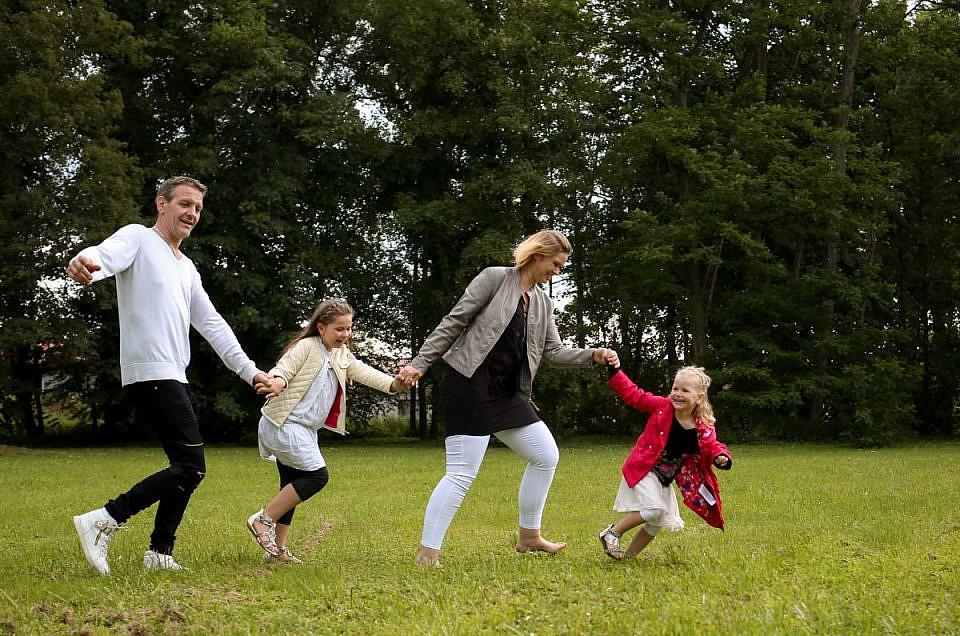 Portraits de famille qui bougent