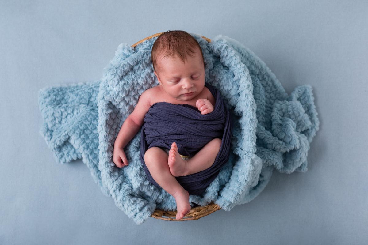 séance photo pour nouveau-né