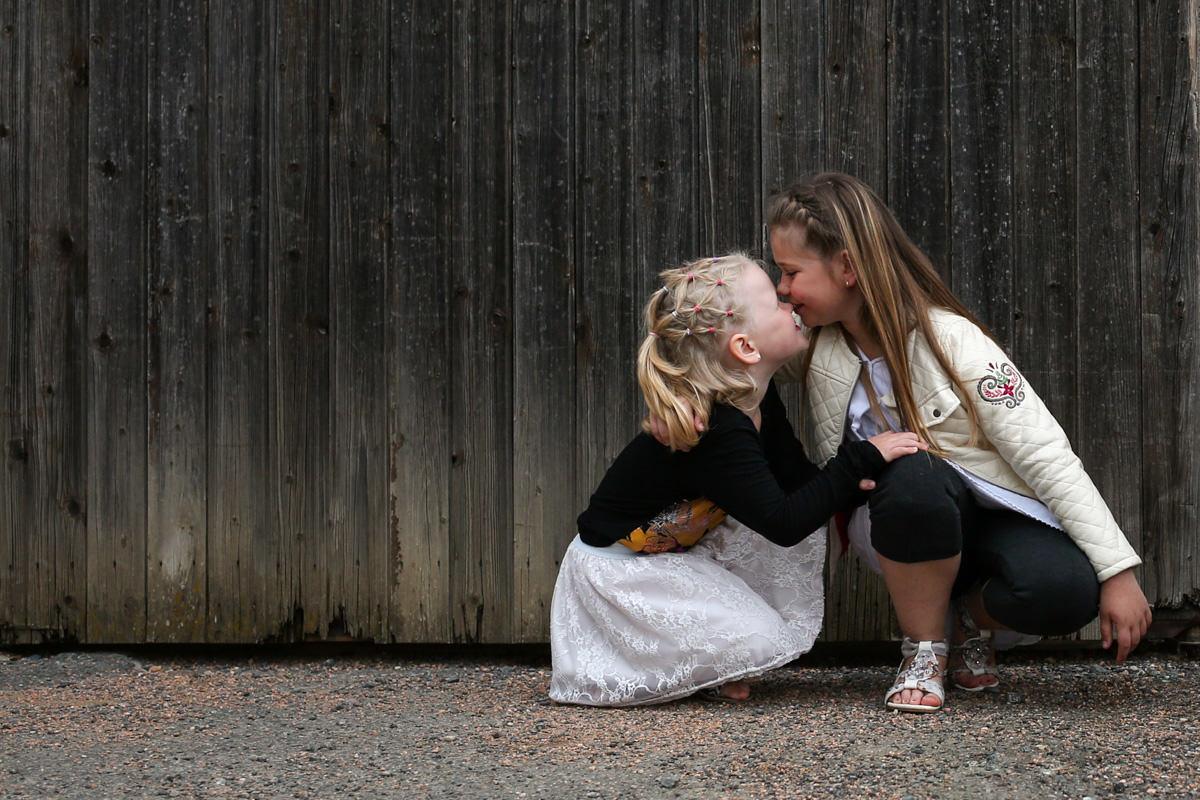 séance photo enfant dehors