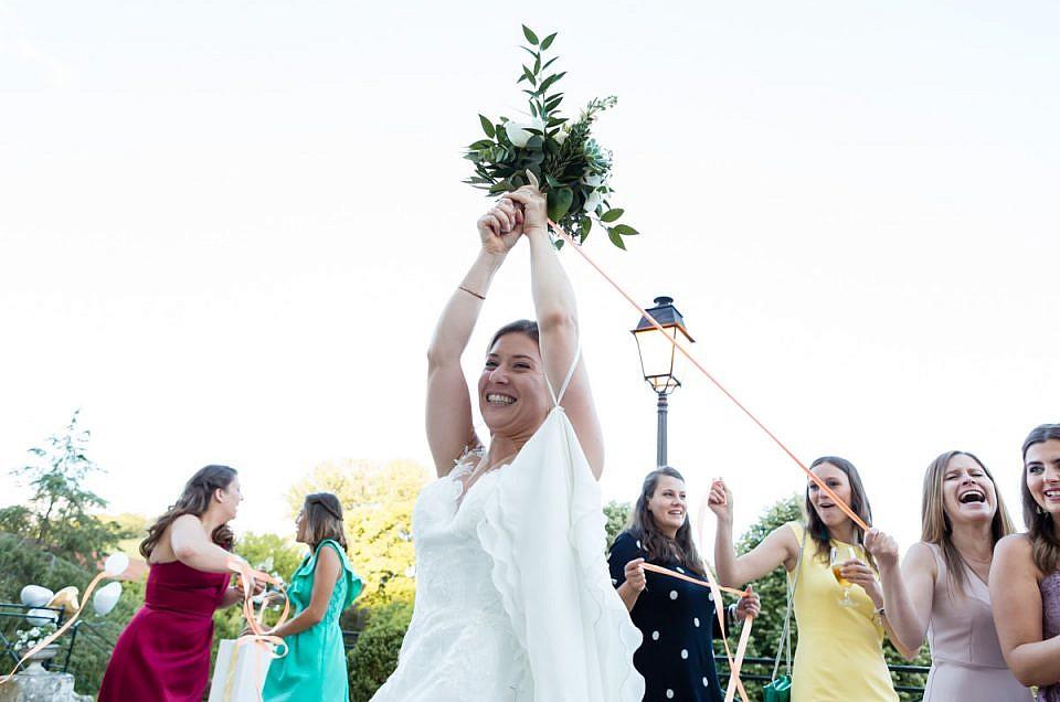 International wedding in Vandéléville, France